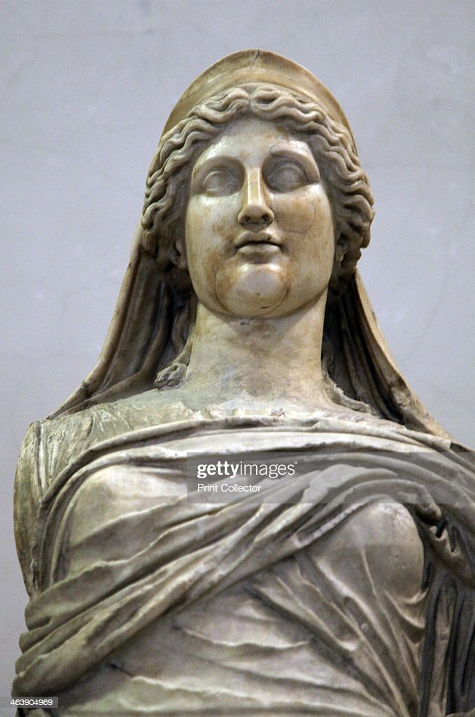 Statue of Persephone, 2nd century. Roman, after a Greek ...