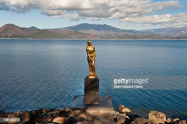 Statue of Princess Tatsuko, Lake Tazawa, Japan