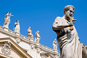 Statue of Saint Peter, Saint Peter's Basilica, Vatican City