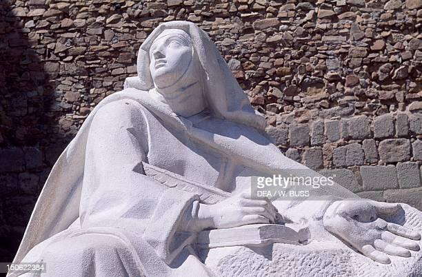 Statue of St Teresa Avila Castile and Leon Detail Spain