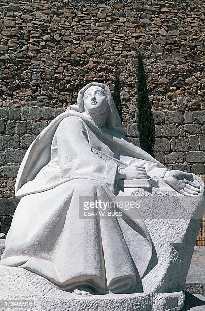 Statue of St Teresa Avila Castile and Leon Spain