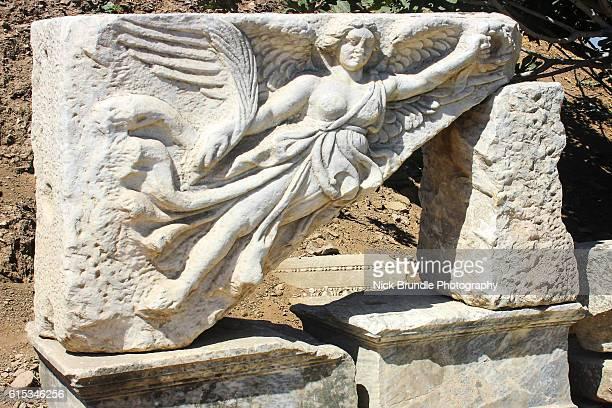 Statue of the goddess Nike, Ephesus, Turkey