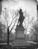 Statue of the Marquis de Lafayette Union Square New York New York 1895