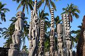 Statue Of Tiki, Hawaii, U.S.A.