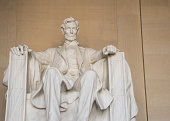Statue of U.S. President Abraham Lincoln