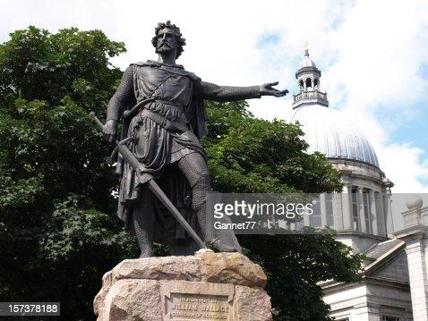 ウィリアム・ウォレスの像、アバディーン