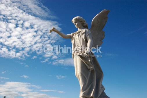 Statues for the Departed : Stock Photo