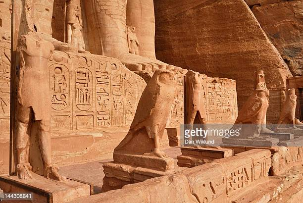 Statues of feet of Abu Simbel