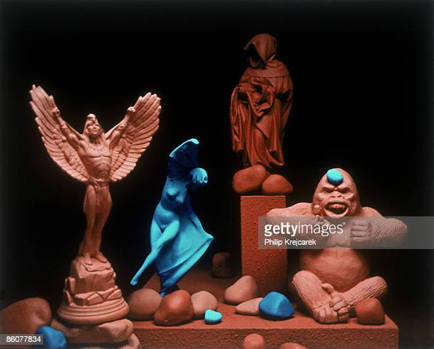 Statuettes of icons