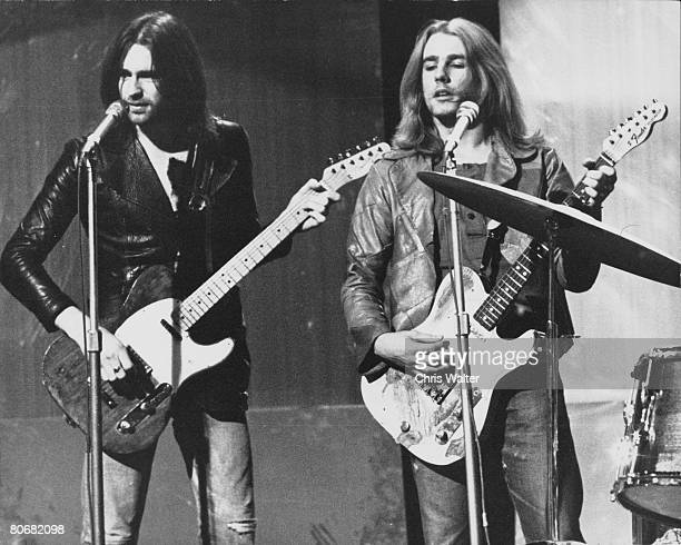Status Quo 1970 Francis Rossi and Rick Parfitt on Top Of The Pops