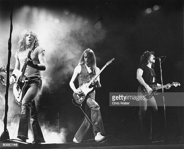 Status Quo 1976 Rick Parfitt Francis Rossi Alan Lancaster