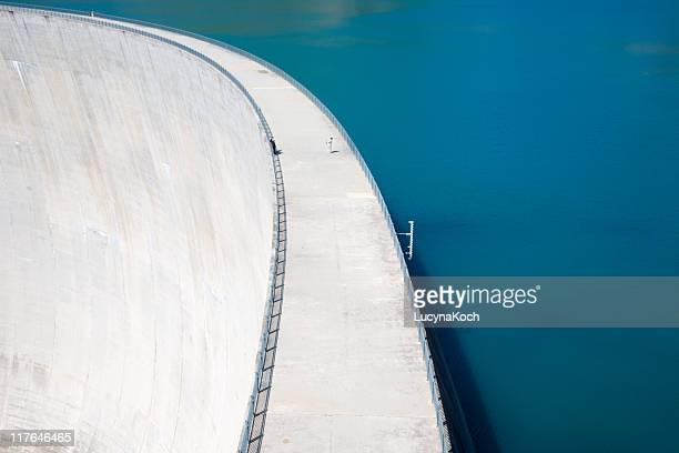 Staumauer Lac d'Emosson