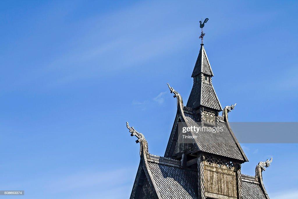Stave Church Hopperstad : Stock Photo
