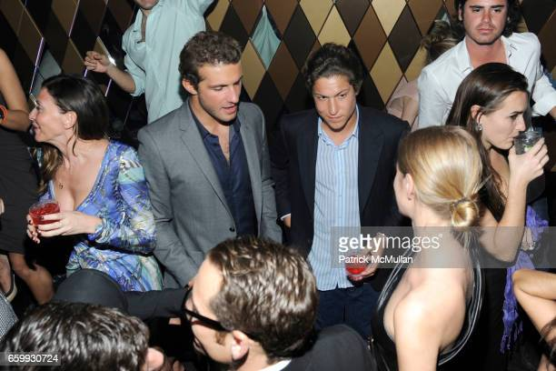 Stavros Niarchos and Vito Schnabel attend Party at WALL Hosted by VITO SCHNABEL STAVROS NIARCHOS ALEX DELLAL at WALL at the W SOUTH BEACH on December...