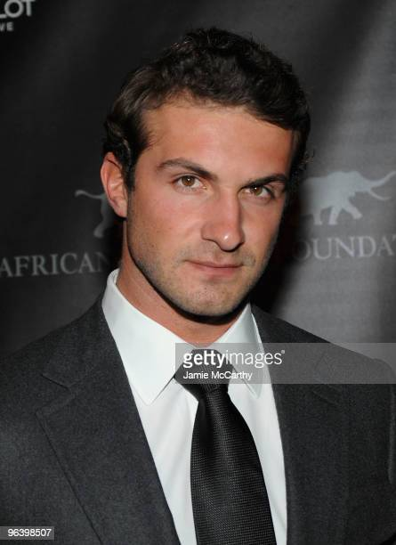 Stavros Niarchos attends the Hublot and African Wildlife Foundation Auction Dinner at American Museum of Natural History African Mammals Room on...