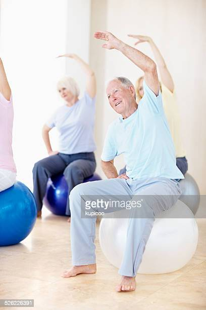 Staying active in old age
