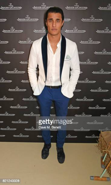 Staz Nair attends the JaegerLeCoultre Gold Cup Polo Final at Cowdray Park on July 23 2017 in Midhurst England