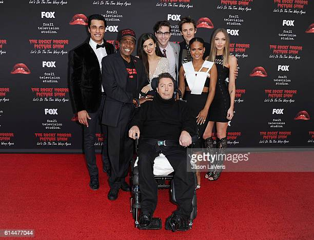 Staz Nair Ben Vereen Victoria Justice Tim Curry Ryan McCartan Reeve Carney Christina Milian and Ivy Levan attend the premiere of 'The Rocky Horror...