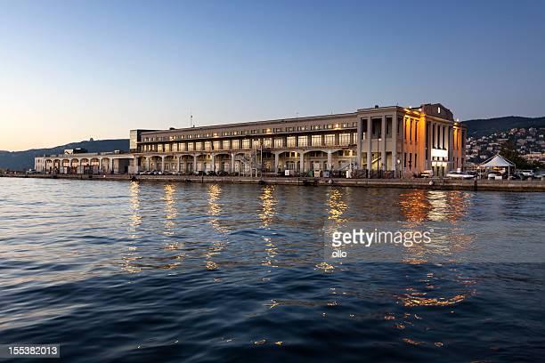 Stazione marittima, Hafen von Triest