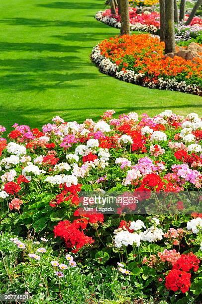 St.Brelade parks und Gärten, Jersey.