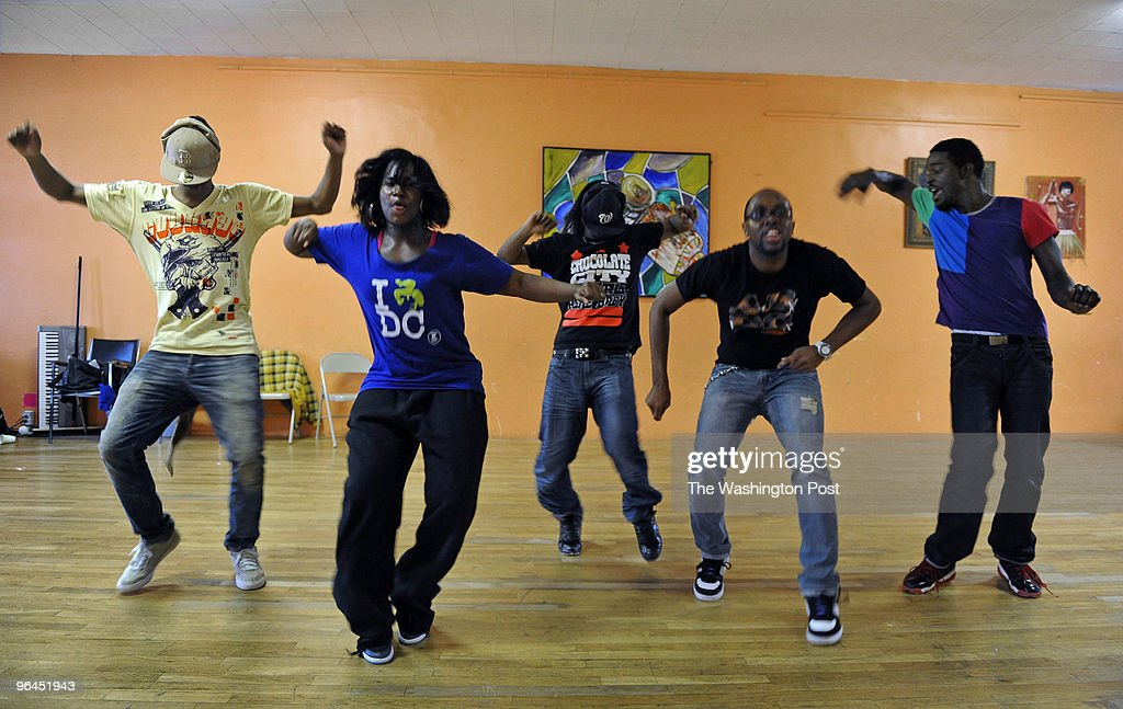 ST-Dance NEG#211460 Photos by Michael S. Williamson 1/19/2010: WE VISIT A PRACTICE SESSION WITH THE BEAT YA FEET KINGS, A DANCE TROUPE THAT'S