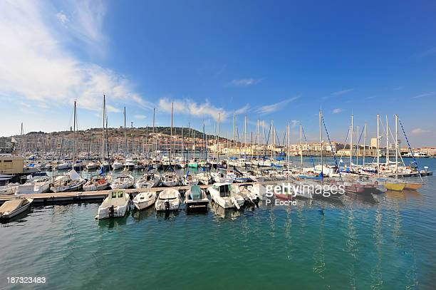 Sète, the marina
