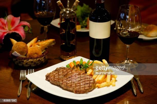steak frites de frites