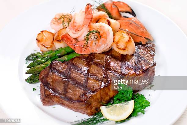 Steak & Seafood Plate