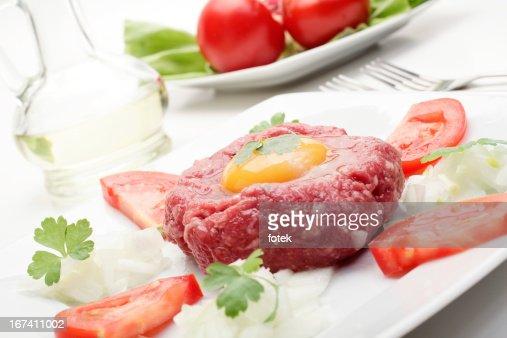 Steak Tartare : Stock-Foto