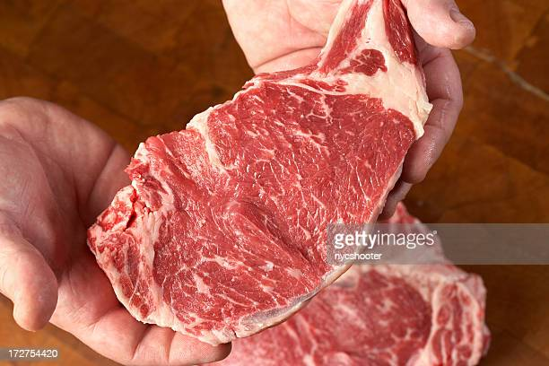 Steaks, roh