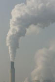 Steam and exhaust rise up from a smokestack of the Reuter West coalburning electric power plant January 27 2006 in Berlin Germany Coal is blamed by...