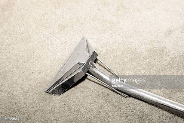 Steam Cleaning Wand on Carpet