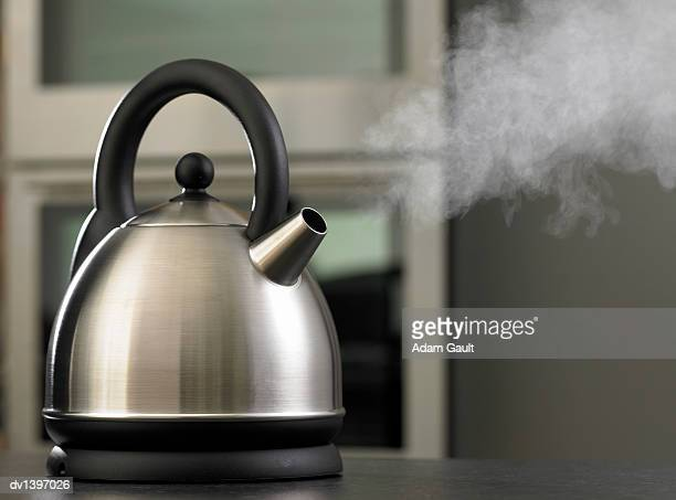 Steam Coming out of a Kettle