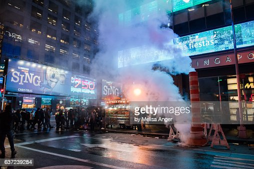 Steam in New York City