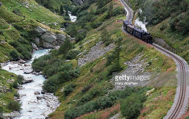 Steam train, Switzerland