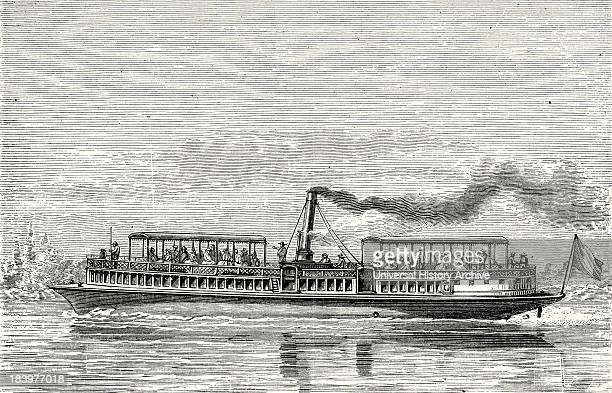 Steamboat Intended To Serve As A Ferry Service On The Seine During The Exposition 1867