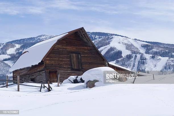 Station de Ski de Steamboat Springs et Grange