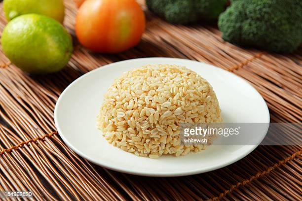 Steamed Brown Rice