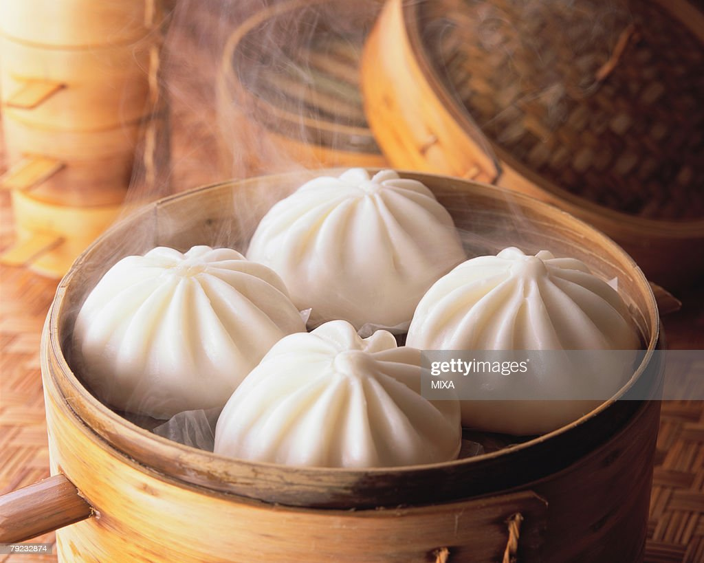 Steamed Bun : Stock Photo