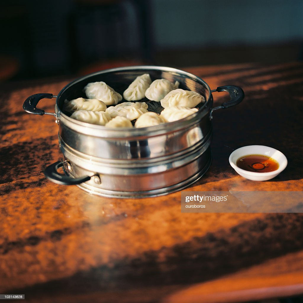 Steaming Dumplings Without A Steamer ~ Steamed dumplings stock photo getty images