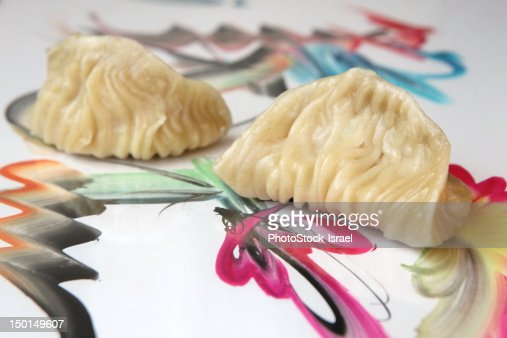 Steamed Gyoza : Stock Photo