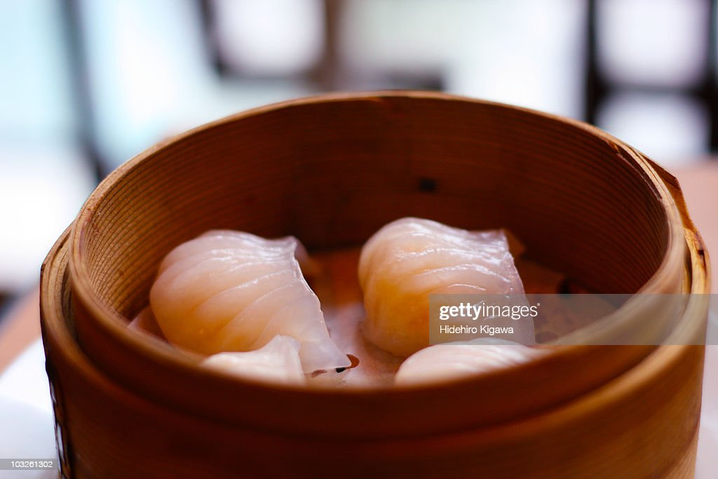 Steamed shrimp dumplings : ストックフォト