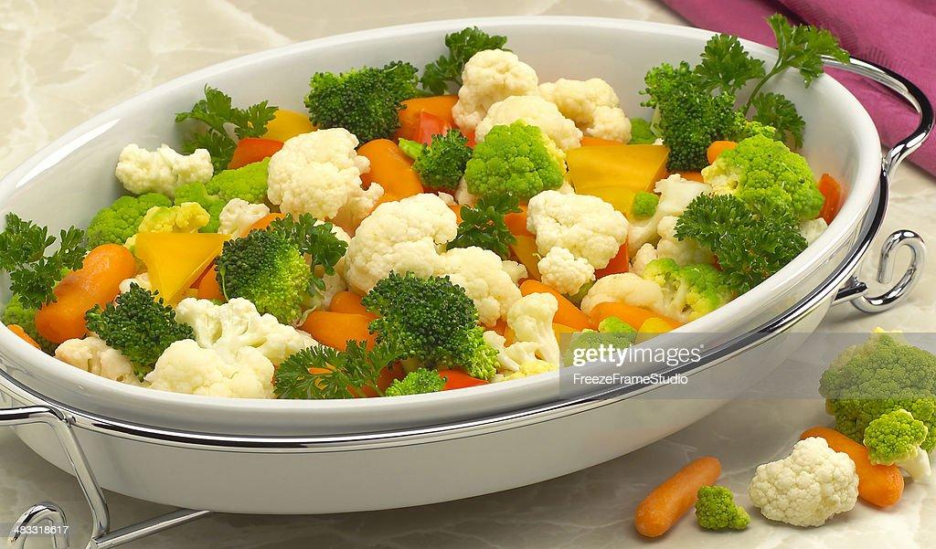 Steamed Vegetable cassarole