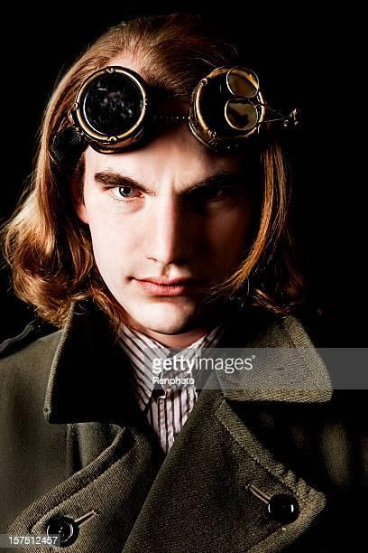Steampunk style portrait