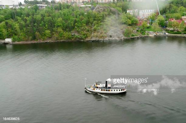 Steamship Ferry In Stockholm Archipelago