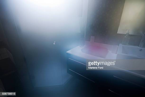 Steamy bathroom