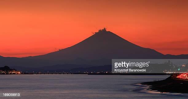 Steamy Mt. Fuji