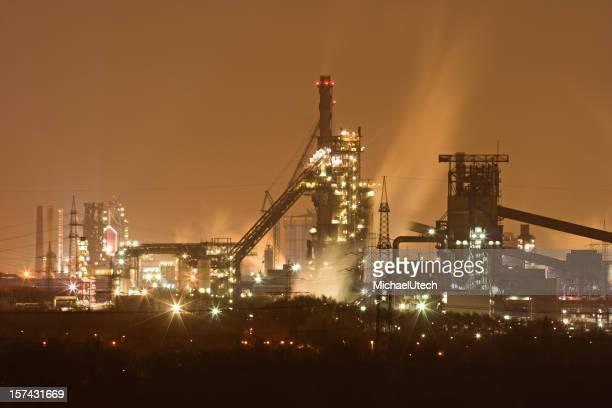 Steamy Steel Plant