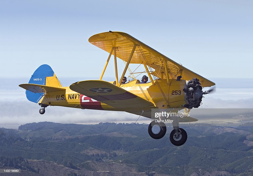 1943 Stearman biplane