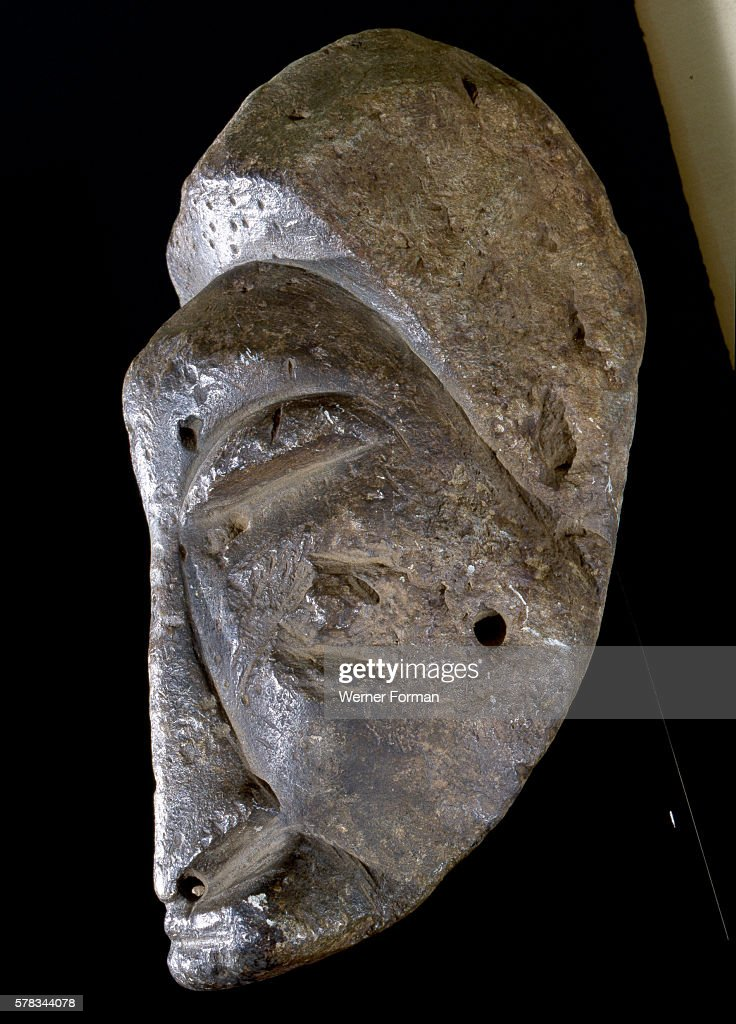 Steatite head of the Sapi people of Sierra Leone Africa Entwistle Gallery London